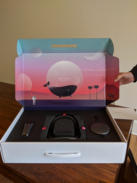 Unboxing the Magic Leap